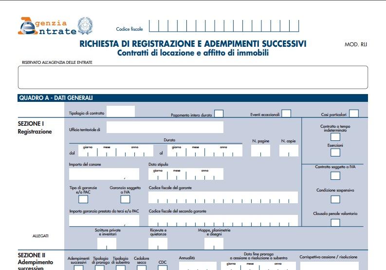 Blog immobiliare di luca tonzani for Registrazione contratto preliminare di compravendita agenzia delle entrate