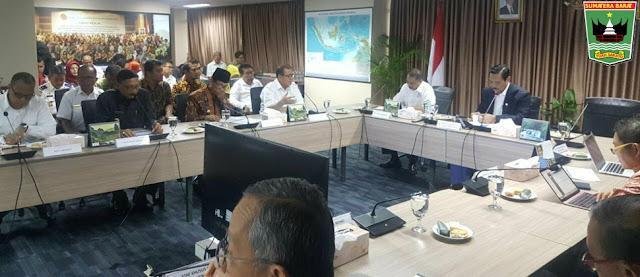 Wagub Nasrul Abit: Upaya Percepatan Pembangunan di Sumbar Jadi Perhatian Pemerintah Pusat