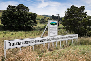 The longest place name on the planet is 85 letters long.