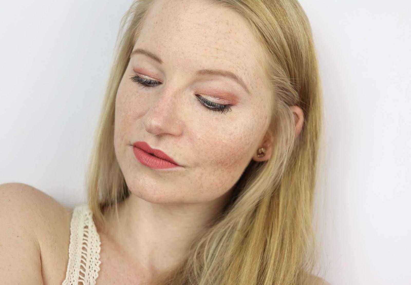 beauty, cosmetics, Illuminating Tint & Conceal, lash booster mascara, make-up look, MatteLast Liquid Lip, Pixi Beauty X Weylie Hoang, review, roseglow eye pen, schlupflider, swatches, tragebilder,