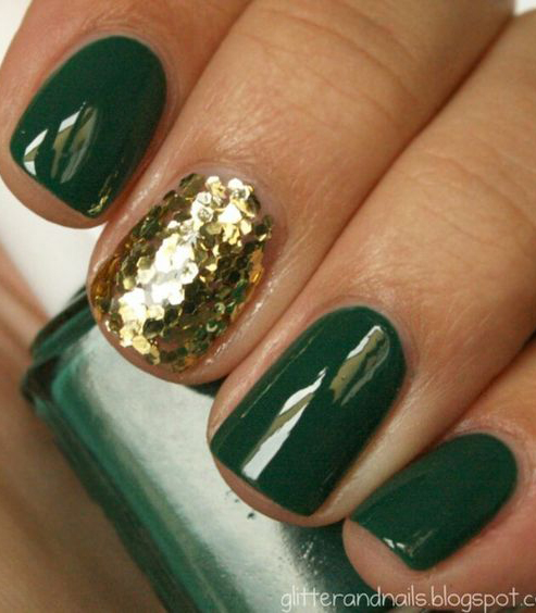 St Patricks Day Nails Art for Religious Moments #stpatricksdaynail #nails