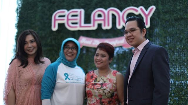 Edukasi Kanker Serviks Bersama Felancy