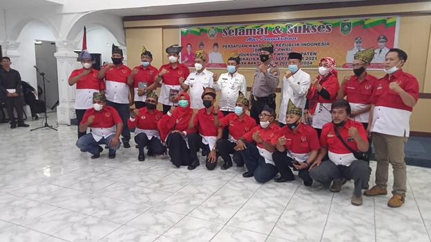 H. Bagus Santoso Hadiri Pengukuhan Persatuan Wartawan Republik Indonesia Periode 2021/2024