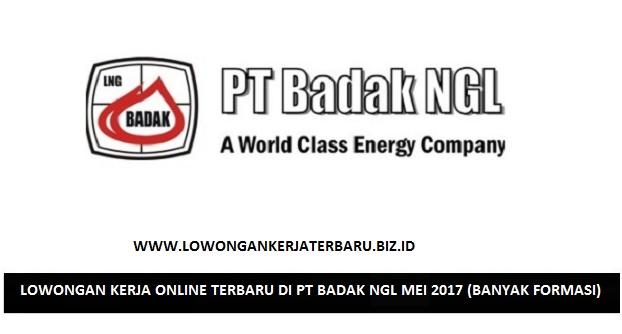 LOWONGAN KERJA ONLINE TERBARU DI PT BADAK NGL MEI 2017 (BANYAK FORMASI)