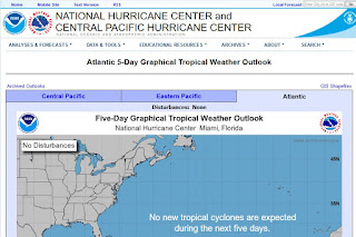 as part of staying informed sign up for hurricane alerts from NOAA