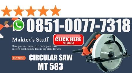 harga circular saw maktec mt583