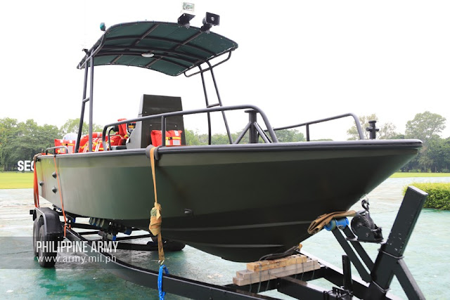 Watercraft (Patrol Boat) Acquisition Project (2020) of the Philippine Army