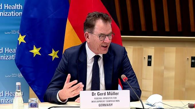 Ministro alemán: ''Los problemas en Marruecos y en la región del Magreb no se solucionarán a través de altos muros y asegurando las fronteras.''