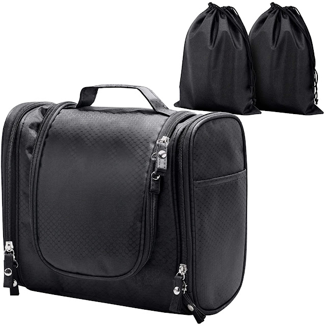 ELV Large Hanging Travel Toiletry Bag