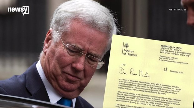 UK Defense Secretary Resigns Amid Scandal
