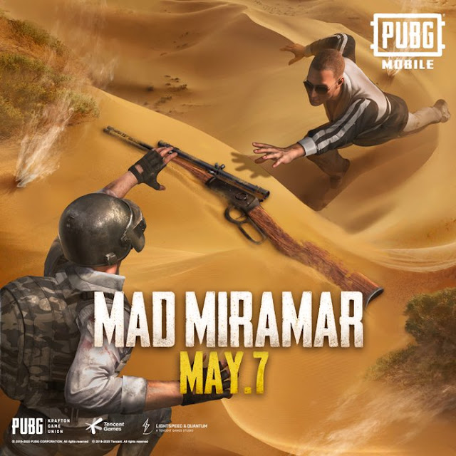 latest update of pubg mobile, mad miramar map, pubg new update