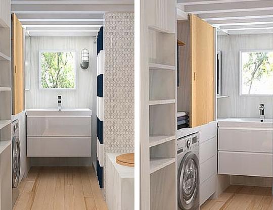 Atelier Praxis tiny house by Minimalist