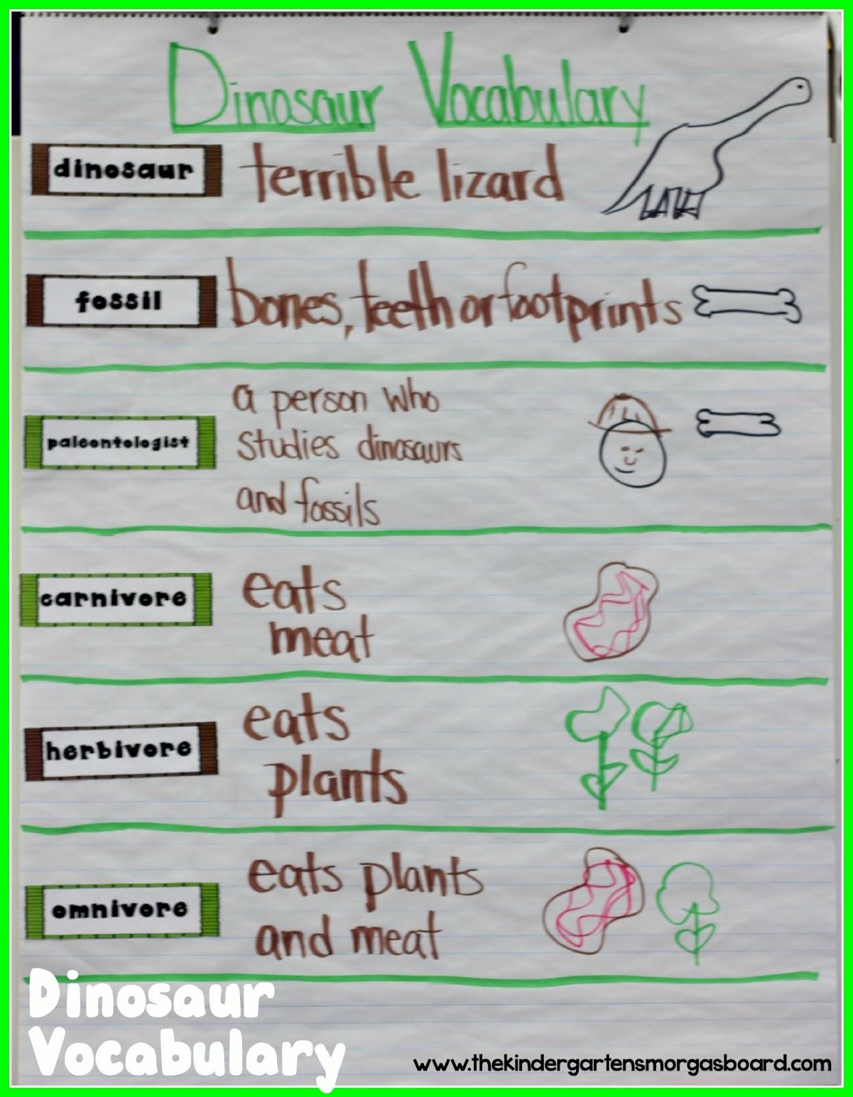 A Kindergarten Smorgasboard Of Dinosaurs