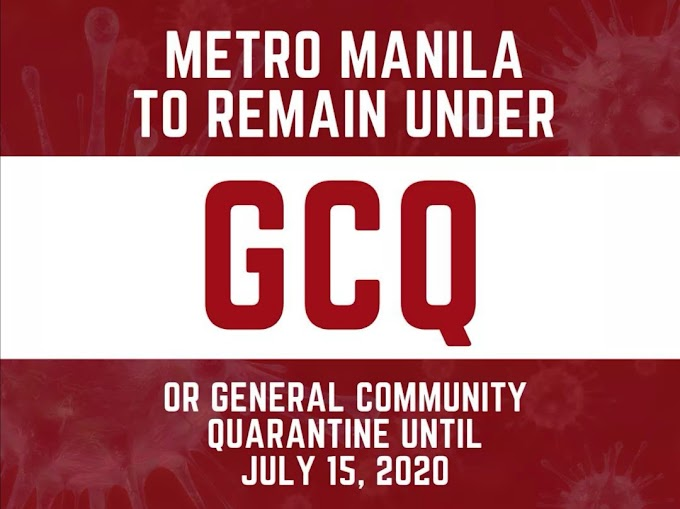 Cebu City to stay under ECQ, Metro Manila under GCQ