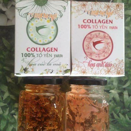 Review mặt nạ ngủ Collagen tổ yến tươi hoa anh đào