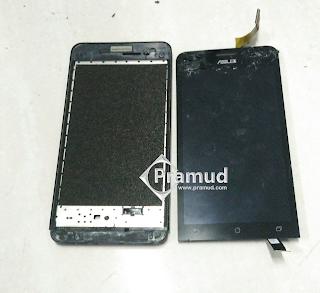 cara mengganti servis repair lcd touchscreen asus zenfone 2 3 4 5 6