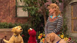 Gina, Brandeis, Elmo, Sesame Street Episode 4307 Brandeis Is Looking For A Job