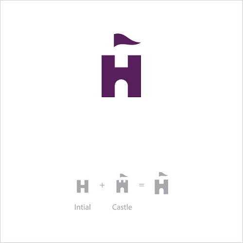 Logo Example - H Castle