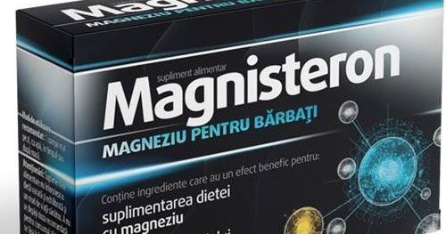 Magnisteron magneziu pentru bărbați, 30 comprimate, Aflofarm