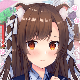 My High School Cat Girlfriend: Anime Dating Game - VER. 2.0.8 Free Premium Choices MOD APK