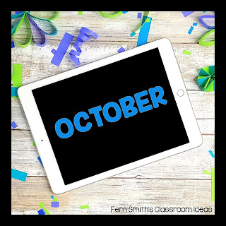 October Freebies for Your Classroom. Free October printables and downloads of all of my October FREEBIES are collected here for easy classroom references. Let me make your October teaching time easier with these worksheets, color by number pages, coloring pages, classroom games, lesson plans, center games, task cards, activities, color by code pages, and so much more! The day to day teaching you do is HARD, let me help. Pin this page to remember to come back each October for more FREE downloads! #FernSmithsClassroomIdeas