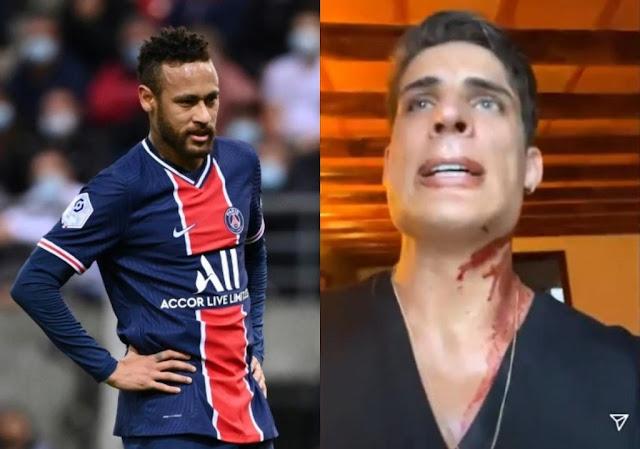Apuñalaron al padrastro de Neymar en México