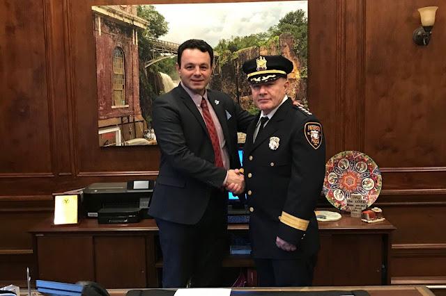 Ibrahim Baycora muslim pertama jadi ketua polis bandar Paterson, New Jersey