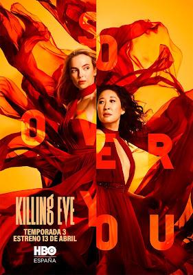 Killing Eve Poster Temporada 3