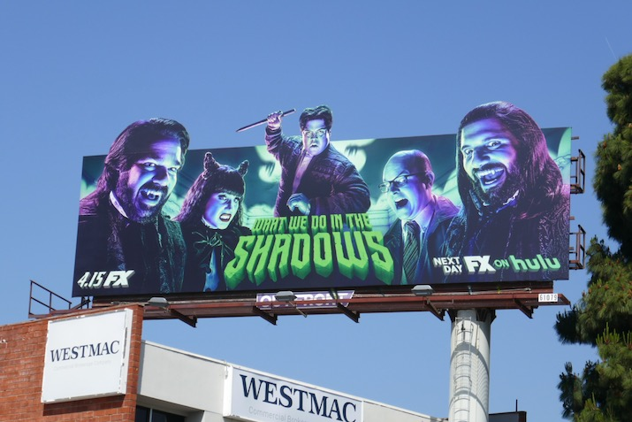 What We Do in Shadows season 2 extension billboard
