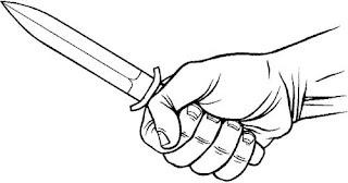 Применение боевого ножа в ближнем бою