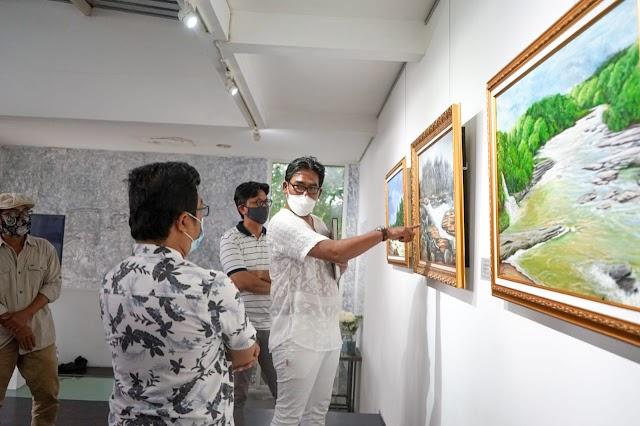 Pertamina Foundation-Dewa Mustika Art Adakan  Pameran Lukisan untuk Amal