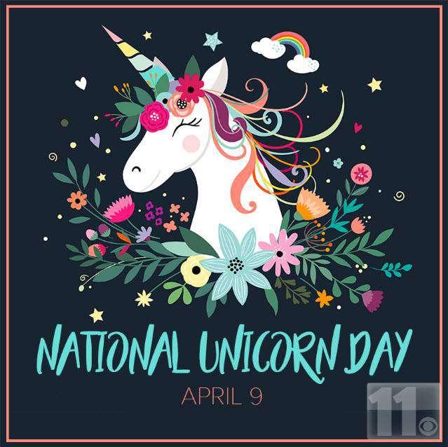 National Unicorn Day Wishes Beautiful Image