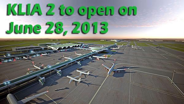 Opening Date of KLIA2
