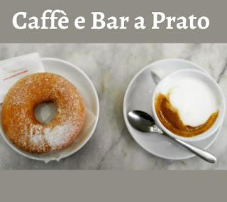 Immagine di un Cappuccino e Ciambella del bar Magnolfi a Prato