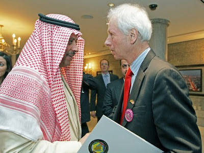 Saudi Arabia's ambassador to Canada and Foreign Minister Stéphane Dion