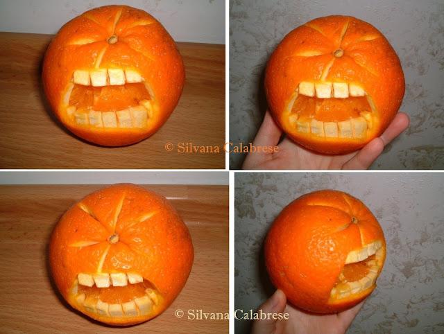 Arancia dolente Intagli frutta verdura Silvana Calabrese blog