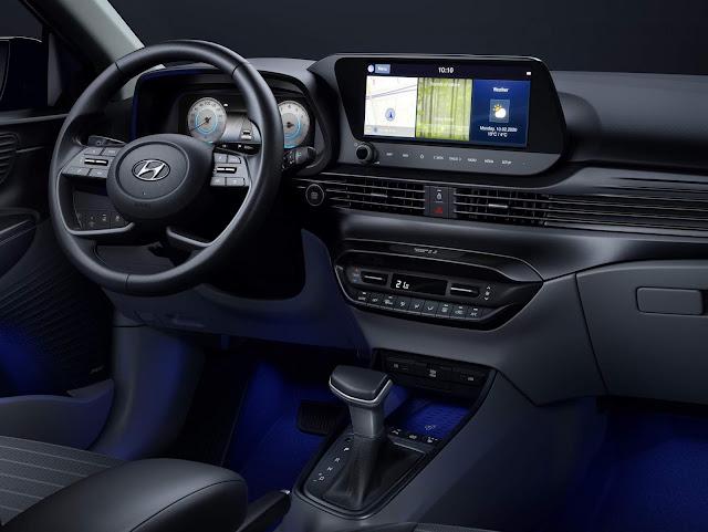 Novo Hyundai i20 2021 - painel