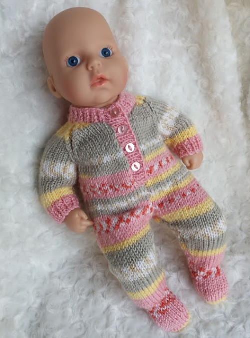 Baby Annabell Sleepsuit - Free Pattern