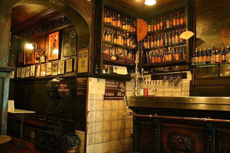 Restaurante - Estanterias para bares ...