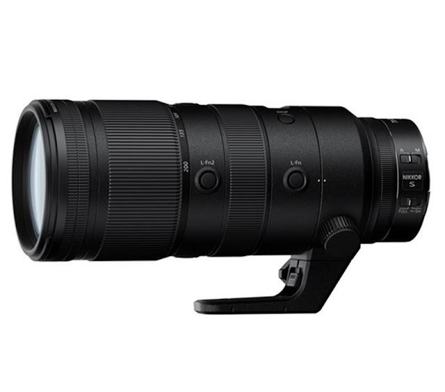 Nikon Z 70-200mm f/2.8 VR S Lens
