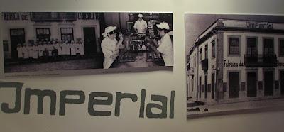 imagens antigas da fábrica Imperial em Vila do Conde