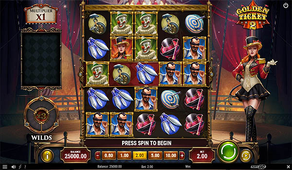 Main Gratis Slot Indonesia - Golden Ticket 2 (Play N GO)
