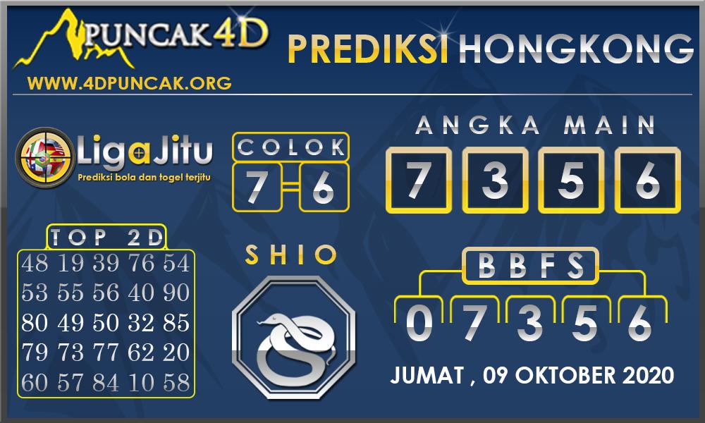 PREDIKSI TOGEL HONGKONG PUNCAK4D 09 OKTOBER 2020