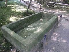 家形石棺身