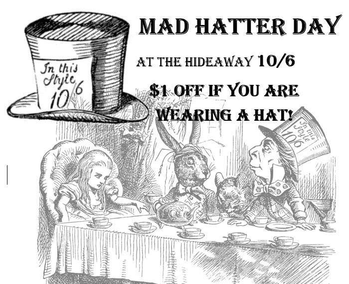 National Mad Hatter Day Wishes for Whatsapp