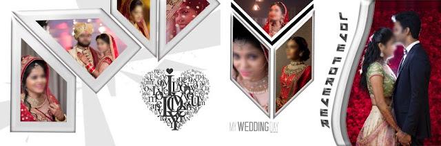 Pre-Wedding Photo Album DM Designs