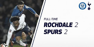 Rochdale vs Tottenham Hotspur 2-2 Video Gol Highlights