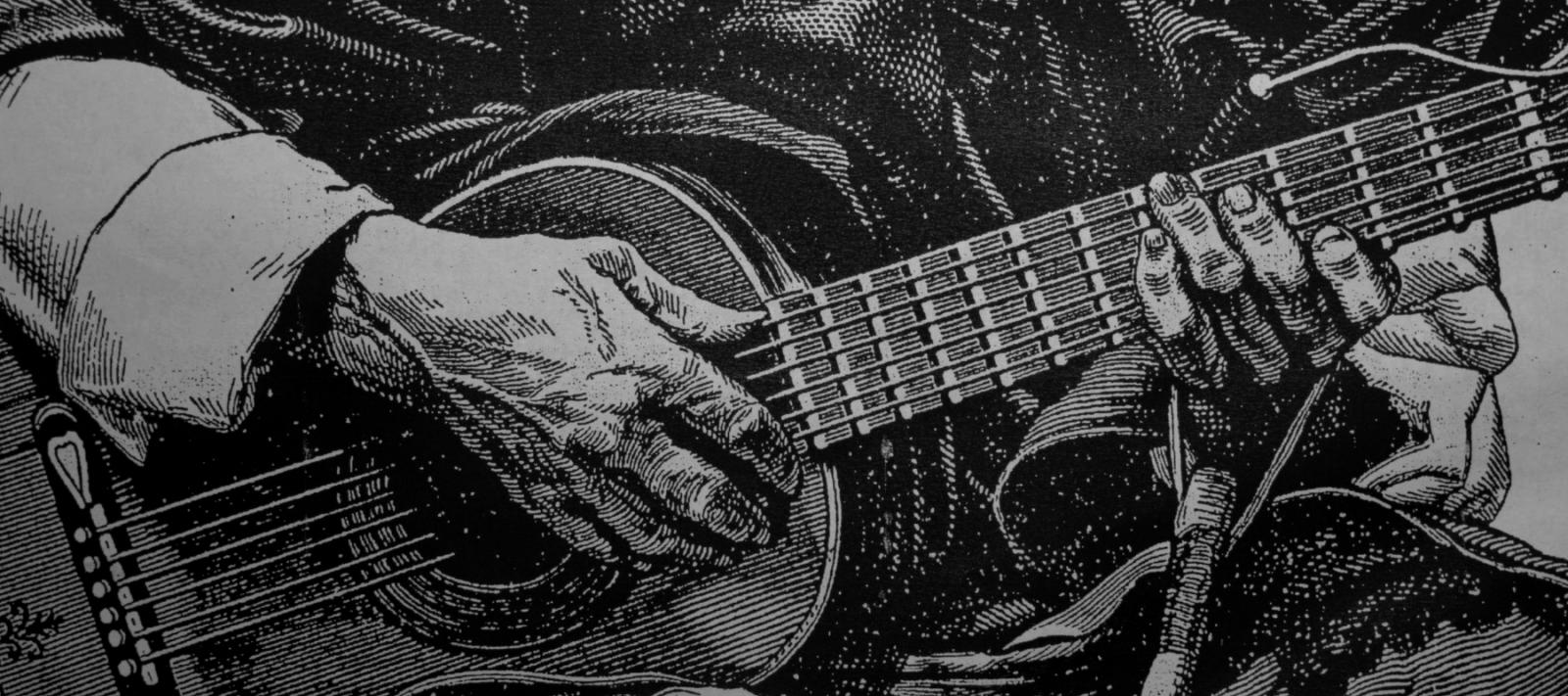 El GAUCHOGUACHO: La guitarra del Martín Fierro