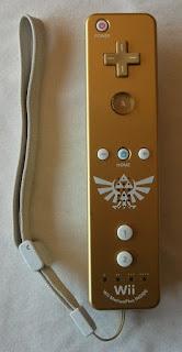 The Legend Of Zelda - Skyward Sword - Mando dorado edición especial limitada