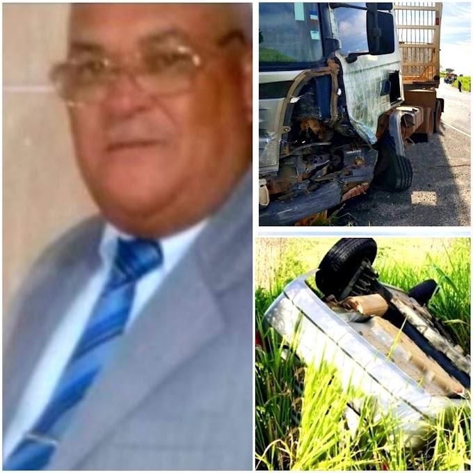 ACIDENTE NA BA 263 | Identificadas vítimas de acidente fatal entre Fiesta e carreta carregada com eucalipto